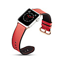 abordables Correas para Apple Watch-Ver Banda para Apple Watch Series 4/3/2/1 Apple Hebilla Clásica Cuero Auténtico Correa de Muñeca