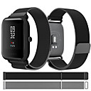 abordables Coques d'iPhone-Bracelet de Montre  pour Huami Amazfit Bip Younth Watch Xiaomi Bracelet Sport / Bracelet Milanais Acier Inoxydable Sangle de Poignet