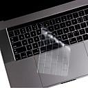 Недорогие Часы для Samsung-ТПУ Защита для клавиатуры Назначение Apple Новый MacBook Pro 13'' (без тачбара) / Новый MacBook Pro 13'' (с тачбаром) / Новый MacBook Pro 15'' (с тачбаром) Английский