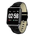 levne Chytré hodinky-Q13 Unisex Inteligentní hodinky Android iOS Bluetooth Voděodolné Dotykový displej Monitor pulsu Měření krevního tlaku Sportovní Stopky Krokoměr Záznamník hovorů Sledování aktivity Měřič spánku