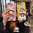 abordables Coques d'iPhone-Coque Pour Apple iPhone XS Max / iPhone 6 Avec Support Coque Bande dessinée Flexible Silicone pour iPhone XS / iPhone XR / iPhone XS Max
