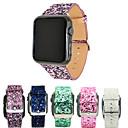 Недорогие Кейсы для iPhone-Ремешок для часов для Серия Apple Watch 5/4/3/2/1 Apple Классическая застежка Натуральная кожа Повязка на запястье