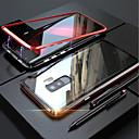 رخيصةأون Electric Shavers-غطاء من أجل Samsung Galaxy S9 / S9 Plus / S8 Plus مغناطيس غطاء كامل للجسم لون سادة قاسي زجاج مقوى