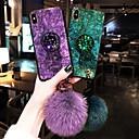 رخيصةأون أغطية أيفون-غطاء من أجل Apple iPhone XS / iPhone XR / iPhone XS Max ضد الصدمات / مع حامل غطاء خلفي حجر كريم ناعم TPU / جل السيليكا