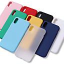 olcso iPhone tokok-Case Kompatibilitás Apple iPhone X / iPhone 8 Plus Ütésálló / Vízálló Fekete tok Egyszínű Puha TPU mert iPhone XS / iPhone XR / iPhone XS Max