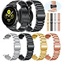 Недорогие Часы для Samsung-Ремешок для часов для Gear S2 / Samsung Galaxy Watch 42 / Samsung Galaxy Active Samsung Galaxy Классическая застежка Металл / Нержавеющая сталь Повязка на запястье