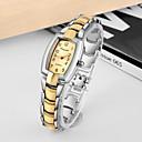 ieftine Cuarț ceasuri-Pentru femei Quartz Quartz Stil Oficial Oțel inoxidabil Argint / Auriu Ceas Casual Analog Lux Modă - Auriu Un an Durată de Viaţă Baterie