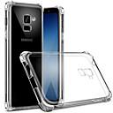 رخيصةأون حافظات / جرابات هواتف جالكسي S-غطاء من أجل Samsung Galaxy S9 / S9 Plus / S8 Plus ضد الغبار / شفاف غطاء خلفي شفاف ناعم TPU