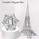 ieftine Gadget-uri Solare-63 pcs Jucării Magnet bile magnetice Magnetice magnetice Lego Super Strong pământuri rare magneți Magnet Neodymium Magnet Neodymium Metalic Magnetic Stres și anxietate relief Birouri pentru birou
