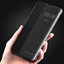 ieftine Carcase / Huse de Huawei-Maska Pentru Huawei Huawei P30 / Huawei P30 Pro cu Fereastră / Întoarce / Suspendare / Revenire Automată Carcasă Telefon Mată Greu PU piele pentru Huawei P20 / Huawei P20 Pro / Huawei P30