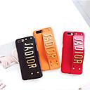 ieftine Carcase iPhone-Maska Pentru Apple iPhone 8 Plus / iPhone 6 Anti Șoc / Suport Inel Capac Spate Cuvânt / expresie Greu PU piele pentru iPhone 8 Plus / iPhone 8 / iPhone 7 Plus
