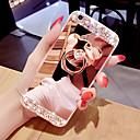 ieftine Carcase iPhone-telefon caz caz oglindă de suprafață telefon cu inel in forma de urs&stativ pentru iPhone 5/6 / 6p / 7 / 7p / 8 / 8p / x / xs / xr / xs max