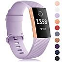 저렴한 Fitbit 밴드 시계-시계 밴드 용 Fitbit Charge 3 핏빗 스포츠 밴드 실리콘 손목 스트랩