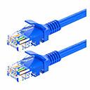 ieftine Cabluri Ethernet-RJ45 Cablu, RJ45 la RJ45 Cablu Bărbați-Bărbați 1.0m (3ft) 1.0 Gbps