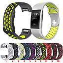 Χαμηλού Κόστους Λουράκια καρπού για Fitbit-Παρακολουθήστε Band για Fitbit Charge 2 Fitbit Αθλητικό Μπρασελέ Ανοξείδωτο Ατσάλι / σιλικόνη Λουράκι Καρπού