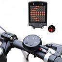 رخيصةأون جسم السيارة الديكور والحماية-الليزر LED اضواء الدراجة مصباح إشارة دورية ضوء الدراجة الخلفي أضواء السلامة LED دراجة جبلية الدراجة ركوب الدراجة ضد الماء وسائط متعددة سطوع رائع تحكم عن بعد 100 lm قابلة لإعادة الشحن USB أخضر / ABS