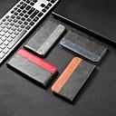 billige Urremme til Fitbit-Etui Til Apple iPhone XS / iPhone XR / iPhone XS Max Kortholder / Stødsikker / Med stativ Fuldt etui Geometrisk mønster Hårdt PU Læder