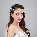 رخيصةأون مجوهرات الشعر-نسائي موضة لطيف أميرة لؤلؤ تقليدي لون سادة