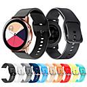 baratos Pulseiras para Samsung-pulseira de pulseira pulseira de relógio de silicone esporte para samsung galáxia relógio ativo / galáxia relógio 42mm / engrenagem s2 relógio inteligente clássico