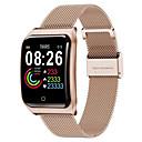 رخيصةأون الأساور الذكية-F9 smartwatch الفولاذ المقاوم للصدأ BT اللياقة البدنية تعقب دعم إخطار ومراقبة معدل ضربات القلب متوافق أبل / سامسونج / الهواتف الروبوت