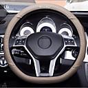 ieftine Cercei-universal piele auto masina de volan acoperi non-alunecare acoperi potrivi diametru 38 cm fund plat
