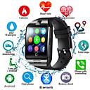 ieftine Ceasuri Smart2-q18s inteligente ceas bărbați suport tf sim carte push mesaj răspuns apel fitness tracker bluetooth smartwatch pentru telefonul Android