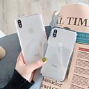 halpa iPhone kotelot-Etui Käyttötarkoitus Apple iPhone XS Max / iPhone 6 Läpinäkyvä Takakuori Yhtenäinen / Läpinäkyvä Pehmeä TPU varten iPhone XS / iPhone XR / iPhone XS Max