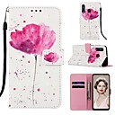 cheap Universal Cases & Bags-Case For Sony Xperia XA3 / Sony Xperia L3 Pattern / Flip / with Stand Full Body Cases Cartoon / Flower Hard PU Leather for Xperia L2 / Sony Xperia XA1 / Sony Xperia XA2