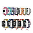 abordables Correas para Apple Watch-SmartWatch Band para Apple Watch serie 4/3/2 / 1nylon Band moda suave y transpirable iwatch correa