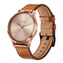 billige Klokkeremmer til Garmin-watch band for garmin vivomove hr 20mm ekte lær armbånd klokker
