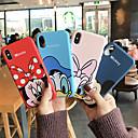 رخيصةأون أغطية أيفون-غطاء من أجل Apple iPhone XS / iPhone XR / iPhone XS Max ضد الغبار / مطرز غطاء كامل للجسم كارتون ناعم TPU