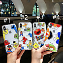 cheap iPhone Cases-Case For Apple iPhone XS / iPhone XR / iPhone XS Max Pattern Back Cover Cartoon Soft TPU