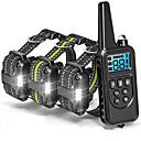 ieftine Accesorii PS3-Câini coaja Guler Lese Antrenament Câini anti-Scoarță Antrenament Mată Plastice ABS Negru