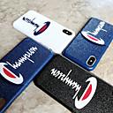 رخيصةأون أغطية أيفون-غطاء من أجل Apple iPhone XS / iPhone XR / iPhone XS Max ضد الغبار / نحيف جداً / احتياطية غطاء خلفي جملة / كلمة الكمبيوتر الشخصي