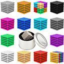 ieftine Jucării cu Magnet-512 pcs 5mm Jucării Magnet bile magnetice Lego Super Strong pământuri rare magneți Magnet Neodymium Magnet Neodymium Magnetic Stres și anxietate relief Birouri pentru birou Ameliorează ADD, ADHD