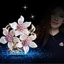 رخيصةأون بروشات-نسائي دبابيس وردة أنيق بروش مجوهرات ذهبي من أجل مناسب للبس اليومي