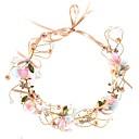 رخيصةأون مجوهرات الشعر-نسائي أنيق أميرة لؤلؤ تقليدي قماش سبيكة مناسب للحفلات حفلة الزفاف - ورد