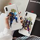 رخيصةأون أغطية أيفون-غطاء من أجل Apple iPhone XS / iPhone XR / iPhone XS Max ضد الصدمات / شفاف / نموذج غطاء خلفي كارتون / 3Dكرتون ناعم TPU
