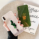 رخيصةأون أغطية أيفون-غطاء من أجل Apple iPhone XS / iPhone XR / iPhone XS Max نحيف جداً / نموذج غطاء خلفي حجر كريم جل السيليكا