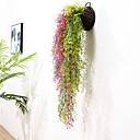 ieftine Ustensile & Gadget-uri de Copt-1 buc simulare aur clopot salcie agățat perete hotel plafon plantă rattan restaurant decorare floare plantă verde