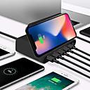 رخيصةأون Smartwatch كابلات وشواحن-شاحن لاسلكي 10w qi لفون xs xs max usb شحن سريع 3.0 سريع chargeur لسامسونج s9 s8