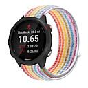 billige Klokkeremmer til Garmin-nylon loop klokkereim for garmin forerunner 245 musikk / forløper 645 stropp / vivoactive 3 band / vivomove hr erstatning armbånd