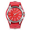 ieftine Ceasuri Bărbați-Bărbați Ceas Elegant Quartz Piele Negru / Alb / Roșu Ceas Casual Mare Dial Analog Modă - Negru Maro Rosu Un an Durată de Viaţă Baterie