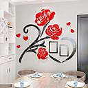 رخيصةأون ملصقات ديكور-لواصق حائط مزخرفة - لواصق الأزهار / النباتية غرفة الجلوس / داخلي
