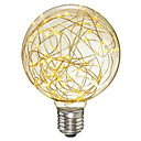 cheap LED Filament Bulbs-1pc 3 W LED Filament Bulbs 200-300 lm E26 / E27 G95 33 LED Beads SMD Decorative Christmas Wedding Decoration Copper Wire Light Warm White 85-265 V