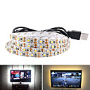 cheap LED Strip Lights-5m USB Flexible LED Light Strips 300 LEDs SMD3528 8mm Warm White / White / Red Waterproof / Party / Decorative 5 V 1pc