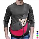 ieftine LED-uri-Pisici Câine Portbagaje & rucsacuri de călătorie Umăr Bag Material Textil Animale de Companie  Coșuri Mată Portabil Respirabil Albastru Roz Albastru Deschis