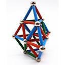 ieftine Jucării cu Magnet-63 pcs Jucării Magnet bile magnetice Magnetice magnetice Lego Super Strong pământuri rare magneți Magnet Neodymium Magnet Neodymium Metalic Magnetic Stres și anxietate relief Birouri pentru birou