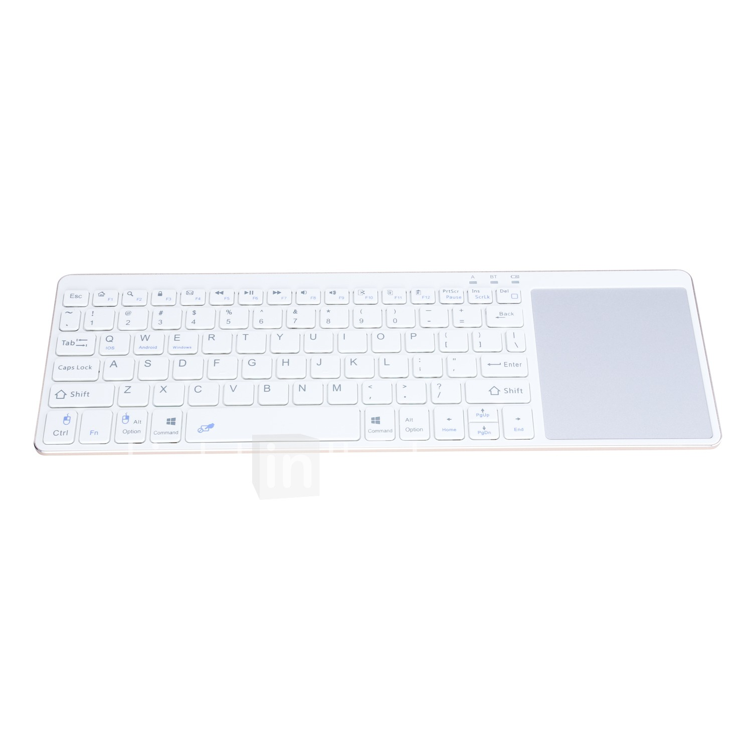 iPazzPort Bluetooth Keyboard Ultra Slim Portable Wireless Keyboard with  Touch Pad for IOS Android Windows Tablet and Smart Phone KP-810-65BT
