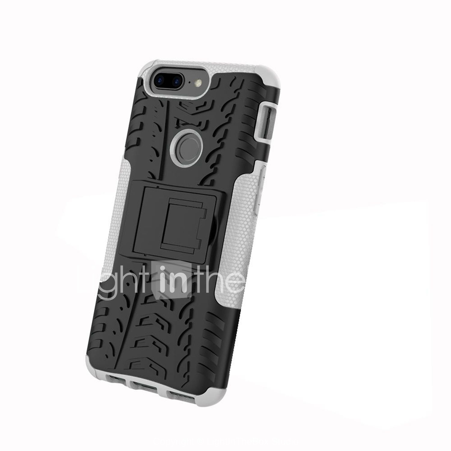 official photos 6d3e4 f5014 Case For OnePlus 5 / OnePlus 5T Shockproof / with Stand / Armor Back ...